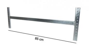 Asta di irrigidimento L=85 cm Zincata (kit completo)