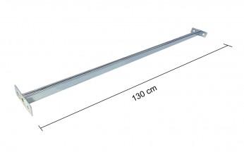 Tubo reggi-abito STRONG L130 cm ZincatoTubo reggi-abito STRONG L130 cm Zincato