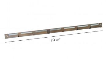 Traversina superiore L70 cm Zincata