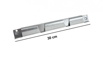 Traversina superiore L=30 cm Zincata