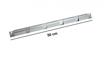 Traversina superiore L=50 cm Zincata