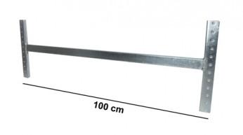 Asta di irrigidimento L=100 cm Zincata (kit completo)