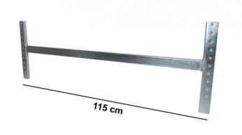 Asta di irrigidimento L=115 cm Zincata (kit completo)