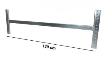 Asta di irrigidimento L=130 cm Zincata (kit completo)