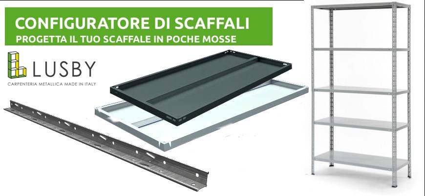 Scaffale Metallo 80 X 40.Scaffali E Scaffalature Metalliche Banchi Da Lavoro Armadi